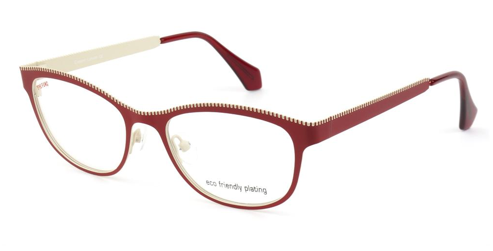 Dioptrické brýle Eyefunc 416 44 red